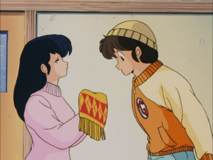 アニメ全話レビュー「めぞん一刻 第18話 「響子さんの贈り物エッ?これを僕に!?」」