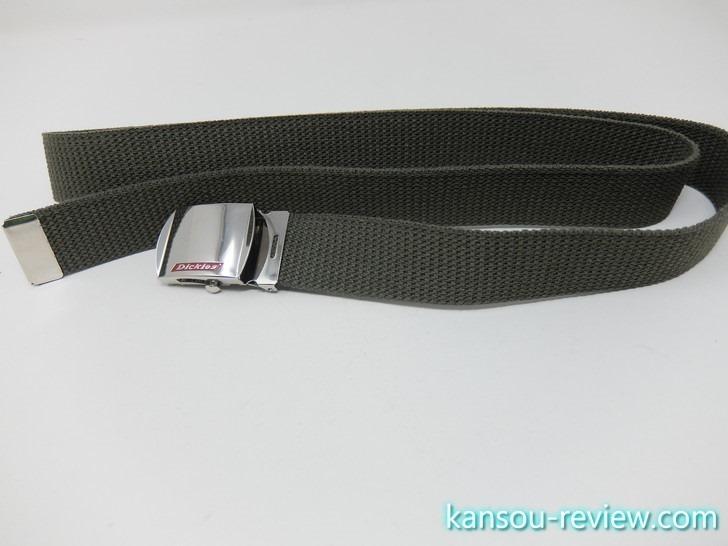 「ガチャベルト DS0754I/Dickies」レビュー ~最強に楽なベルトはガチャベルト~