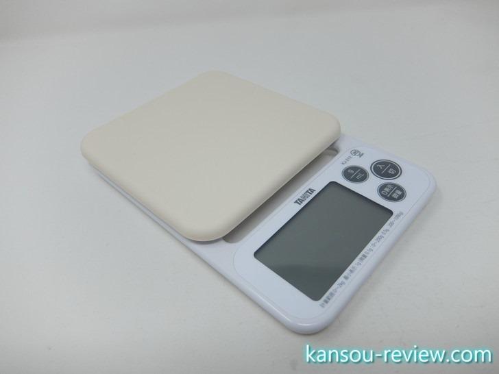 「クッキングスケール KJ-212-WH/タニタ」レビュー ~~