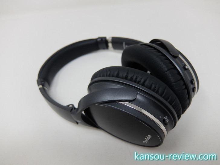 「Bluetoothヘッドホン A3/OneAudio」レビュー ~オーバーイヤーなのにコンパクト~