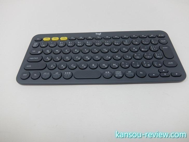 「キーボード K380/Logicool」レビュー ~一瞬で端末の切り替えが出来る~