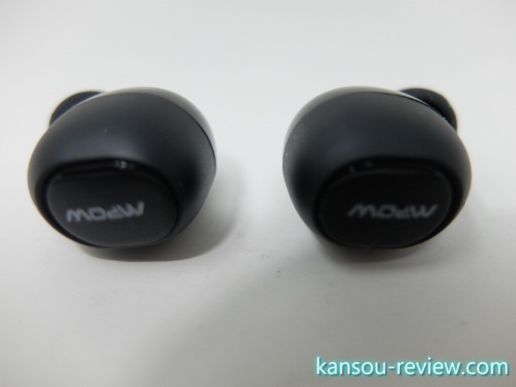 「Bluetoothヘッドセット BH322B/Mpow」レビュー ~セパレートタイプで音楽再生バッテリー6時間持ち~