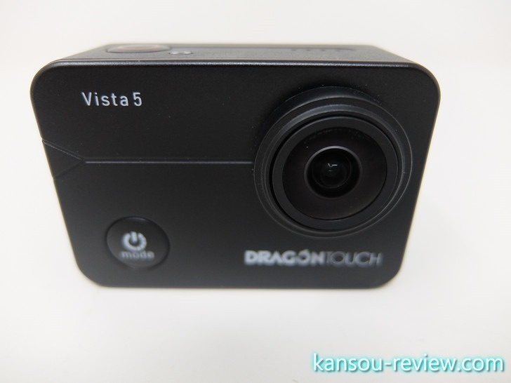 「アクションカメラ Vista 5/DragonTouch」レビュー ~4Kでタッチパネル~