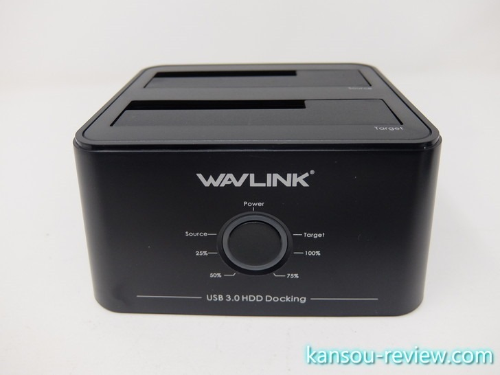 「HDDスタンド WL-ST334U/Wavlink」レビュー ~ホットスワップ対応のHDDスタンド~