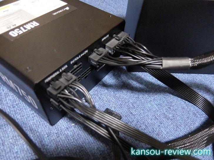 「8年ぶりのパソコン自作をRyzen 7で敢行」レポート6 ~Corsair RM750-2019- 750W PC電源ユニット 80PLUS GOLD PS862 CP-9020195-JP~
