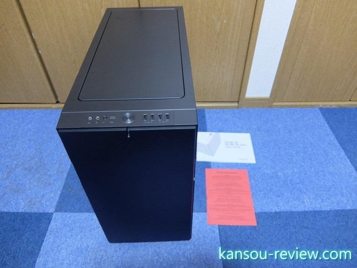 「8年ぶりのパソコン自作をRyzen 7で敢行」レポート7 ~Fractal Design Define R6 – Gray USB3.1 Gen2 USB-C~