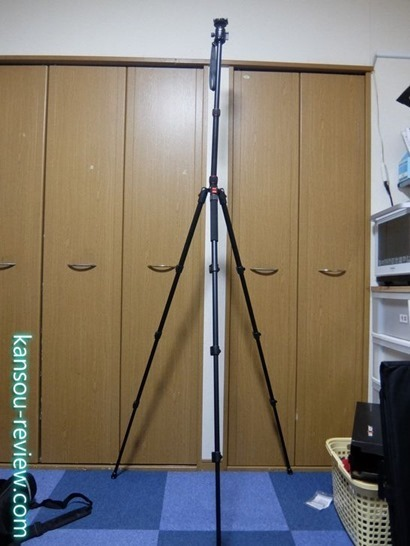 「カメラ三脚 JPKF09.076/K&F Concept」レビュー ~最大超2mの格安三脚~