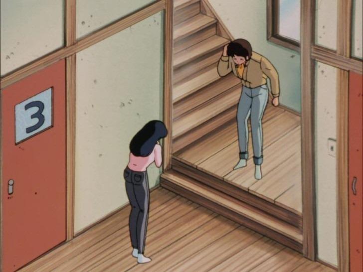 (アニメ) めぞん一刻 第20話 「響子さんイライラ!? 帰らない五代君の謎」 (1986日) {25m40s 1440x1080 x264}.mp4_001412452